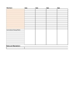 Small Group Tracker