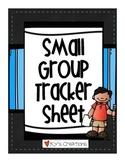 Small Group Tracker Sheet