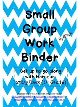 Small Group Work Binder