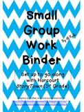 Small Group Work Binder