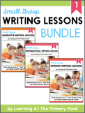Small Group Writing Lessons for First Grade - PRESALE (Growing Bundle)