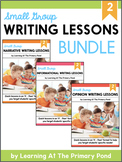 Small Group Writing Lessons for Second Grade - PRESALE (Growing Bundle)