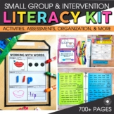Small Group and Intervention LITERACY KIT | Reading Activi