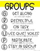 Small Groups Anchor Charts