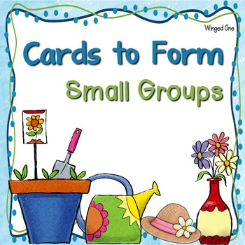Small Groups {Cards for Grouping}