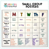Small Groups/Centers Posters