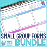 Small Groups Forms and Templates Bundle #christmasinjuly21