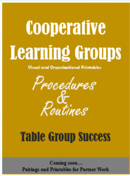 Small Groups, Group Work, Cooperative Learning, Centers, Gifted