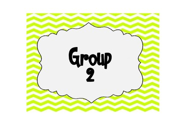 Small Groups Posters (Chevron)