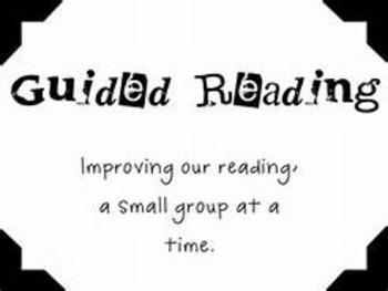 Small Guided Reading Webinar Slides