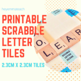 Small Letter Tiles