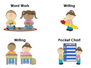 Small Literacy Station Signs
