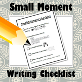 Small Moment Checklist