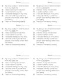 Small Moment (Narrative) Checklist