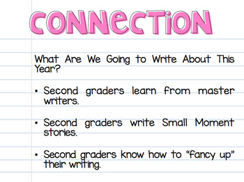 Small Moment Story Writing {Editable} Power Points