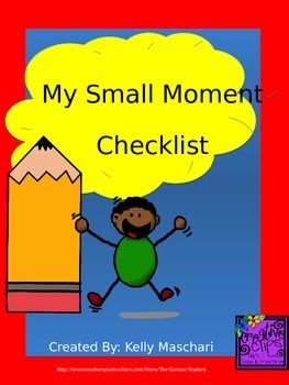 Small Moment Student Checklist