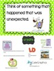 Small Moment (personal narrative) Anchor Chart Cards