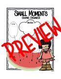 Small Moments Graphic Organizer