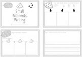 Small Moments Writing - Mini book, planning templates and posters