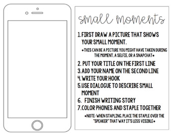 Small Moments Writing Final