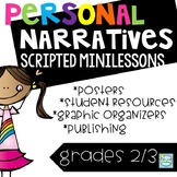Personal Narratives Grades 1-3 ~ Personal Narrative Writing Small Moments