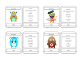 Small Monster Cards (Class Dojo themed)