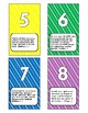 Small Number Bible Verse Cards