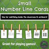 Small Numberline Cards 1-20 Subitizing & Number Sense - Indoor Outdoor Learning