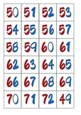 Small Numbers Cards  0 - 119