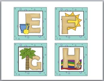 Ocean Theme Classroom Decor Word Wall Headers - (Small Size)