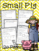 Small Pig Literacy Companion Comprehension Questions