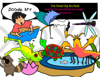 Small Pond Clipart Pack