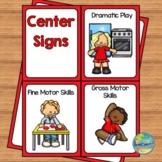 Small Preschool Center Signs