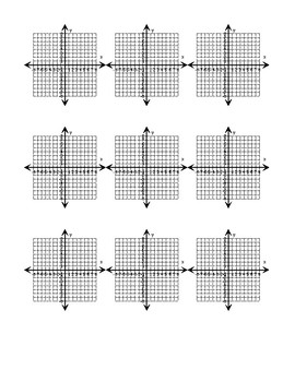photograph about Coordinate Planes Printable identify Minimal Printable 8x8 coordinate planes (9 for each web page) by means of Math
