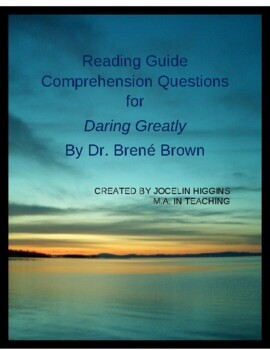 Daring Greatly by Brene Brown: Reading Group Discussion Questions