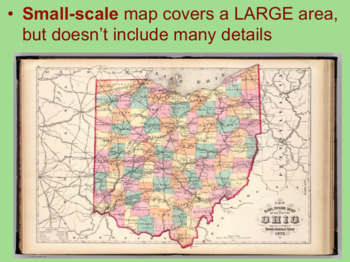 Small Scale Vs. Large Scale Maps PPT