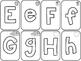 Small Sensory Alphabet Freebie!