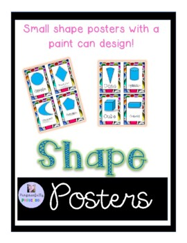 Small Shape Signs Paint Can design