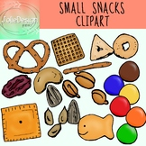 Small Snacks Trail Mix Clip Art - Color and Line Art 31 pc set