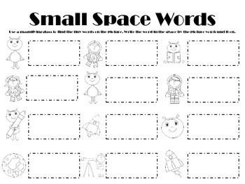 Small Space Words