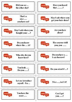 Small Talk - Conversation Cards