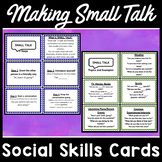 Small Talk Social Skills Cards