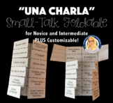 Spanish Small Talk Questions Customizable Foldable