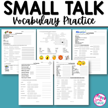 Small Talk Vocabulary Practice