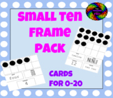 Small Ten Frame Pack 0-20