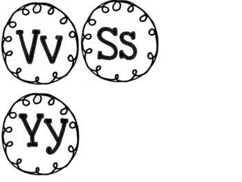 Small Word Wall Headers