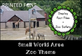 Small World Area (Zoo Themed)