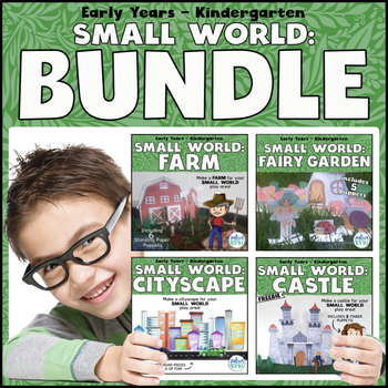 Small World Play: BUNDLE (background scenes & puppets)