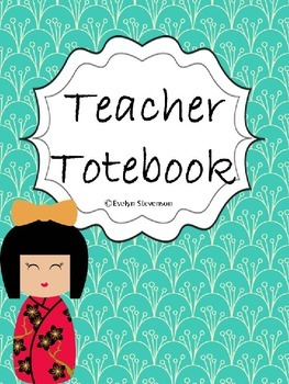 Small World Teacher Totebook Binder