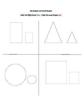 Small and Big Shapes